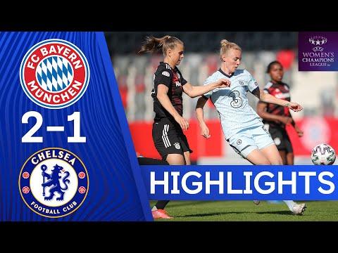 Bayern Munich 2-1 Chelsea |  Ligue des champions de l'UEFA |  Demi-finales |  1ère étape |  Points forts