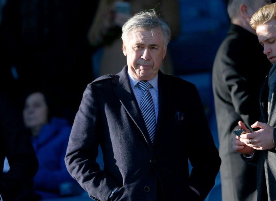 Ancelotti discute de la prolongation du contrat de James Rodriguez et fournit une mise à jour de l'équipe d'Everton avant Aston Villa