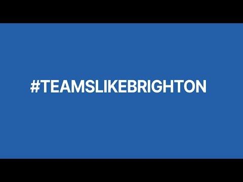 #TeamsLikeBrighton