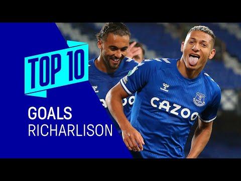 TOP 10 DES OBJECTIFS RICHARLISON !