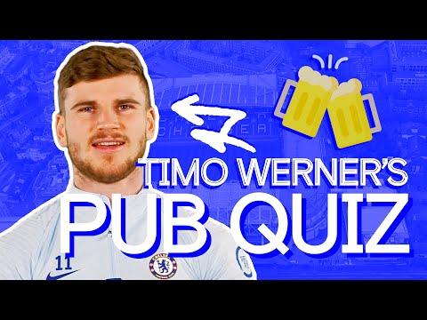 Test de Werner's British Slang & Chelsea Knowledge 🤣|  Timo Werner's Pub Quiz