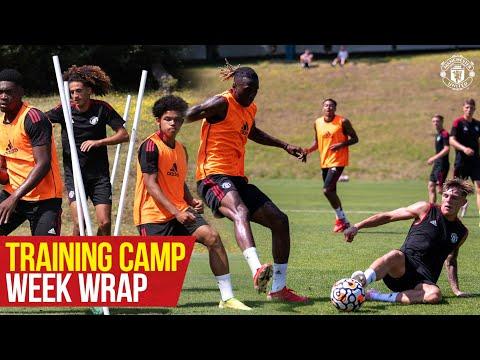 Manchester United |  Enveloppement du camp d'entraînement d'avant-saison |  Solskjaer, Greenwood, Mata, Matic