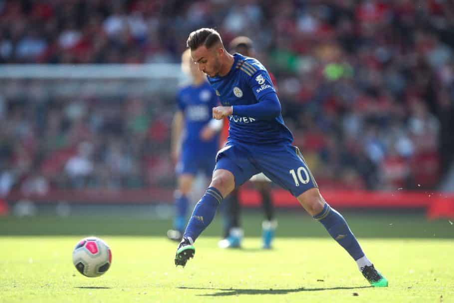Explication fournie pour l'absence de James Maddison lié à Arsenal contre QPR