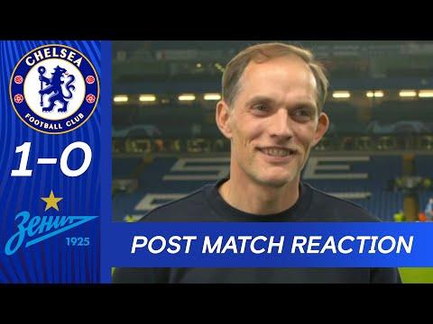 Tuchel réagit à la victoire d'ouverture de la Ligue des champions |  Chelsea 1-0 Zenit Saint-Pétersbourg |  Ligue des champions